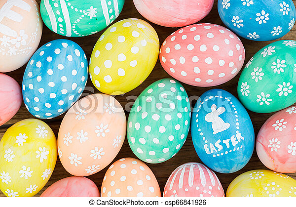 Easter eggs - csp66841926