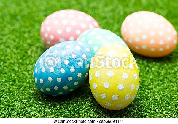 Easter eggs - csp66894141
