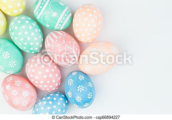 Easter eggs - csp66894227