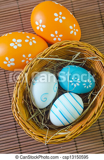 easter eggs - csp13150595