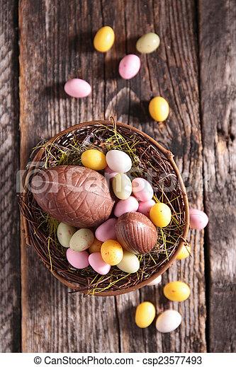 easter eggs - csp23577493