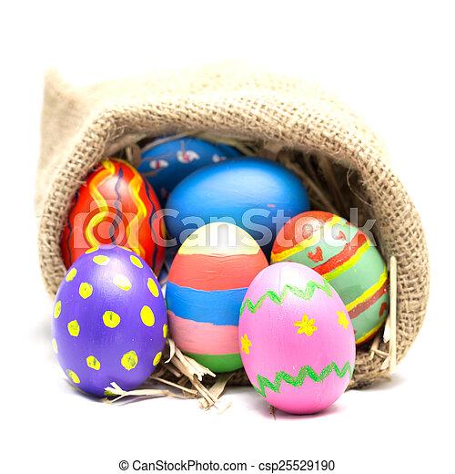 Easter eggs - csp25529190