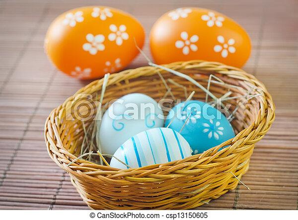 easter eggs - csp13150605