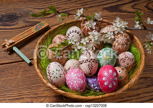 Easter eggs - csp13207008