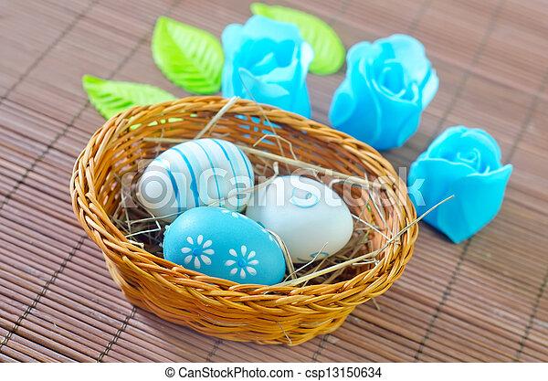 easter eggs - csp13150634