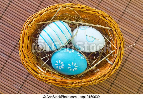 easter eggs - csp13150639