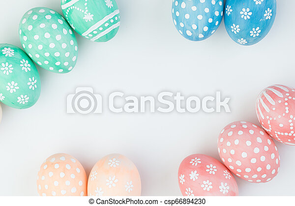 Easter eggs - csp66894230