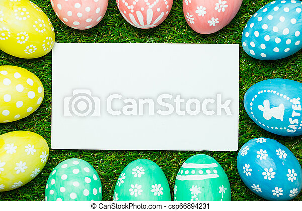 Easter eggs - csp66894231