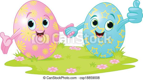 Easter Eggs - csp18859008