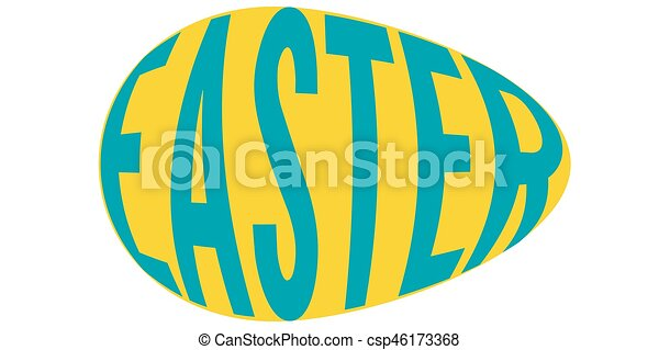 easter eggs with the word easter vector clip art vector search rh canstockphoto com easter vector art easter vector art free