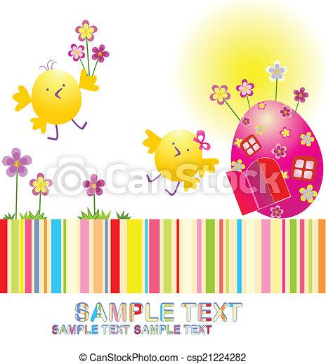 ¡Feliz Pascua! - csp21224282