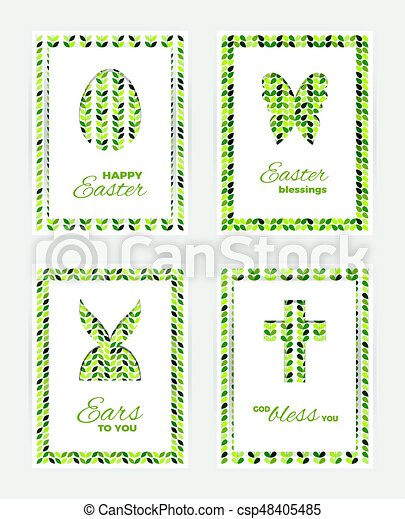 Easter gift cards template of easter greeting cards white easter gift cards csp48405485 negle Choice Image