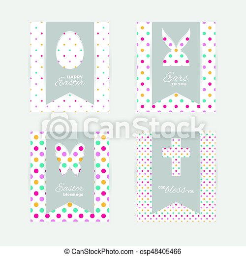 Easter gift tags and cards template of easter greeting clip art easter gift tags and cards csp48405466 negle Gallery