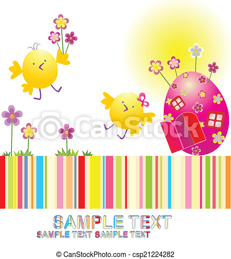 easter!, heureux - csp21224282