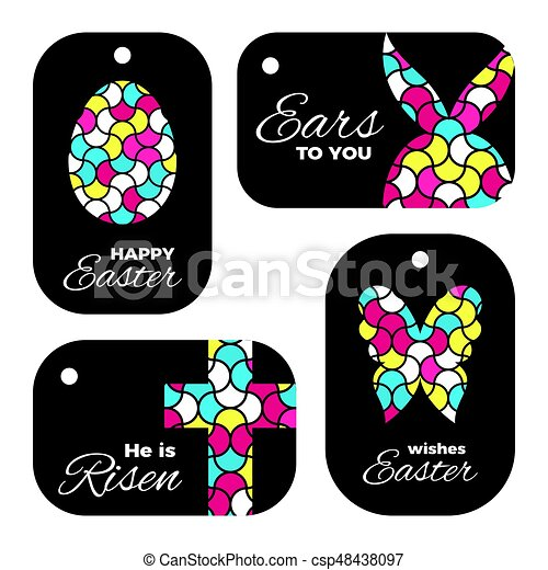 Easter laser cutting laser cut template for easter gift tags or easter laser cutting csp48438097 negle Choice Image