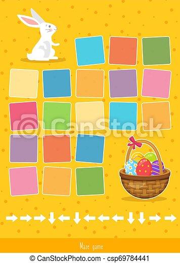 Easter Maze Clip Art