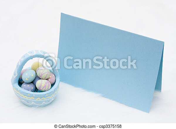 Easter message - csp3375158