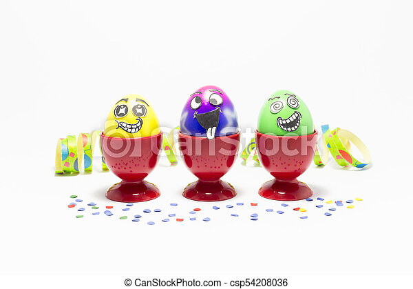 Easter party with crazy eggs