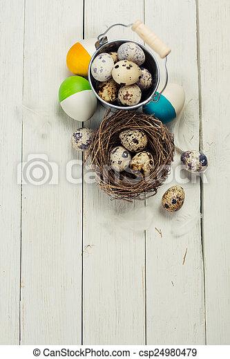 Easter still life - csp24980479