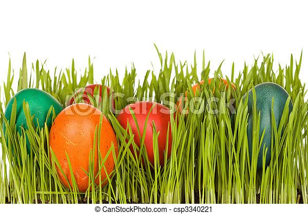 Easter symbols - csp3340221