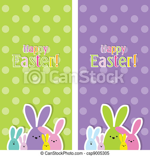 Easter web banners - csp9005305