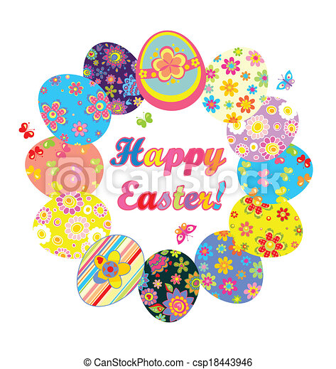 Graphics For Easter Wreath Graphics