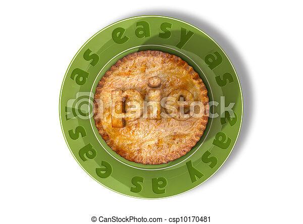 Easy As Pie - csp10170481