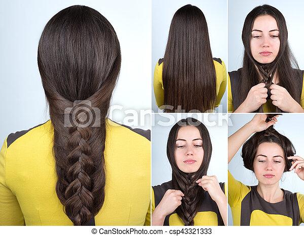 Easy Braid Hairstyle Tutorial Simple Braid Hairstyle Tutorial