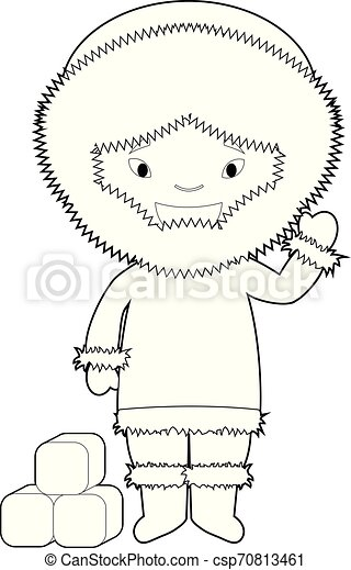Character From Maldives Dressed In The Traditional Way Stock Illustration -  Download Image Now - iStock