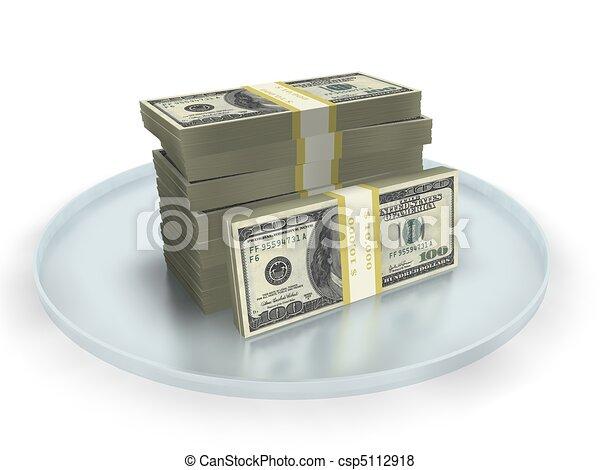 easy money concept  - csp5112918