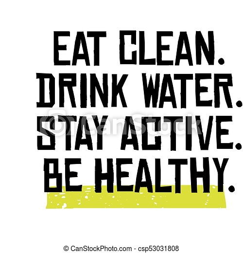 how to stay clean and healthy