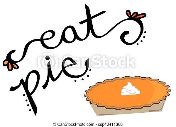 Eat Pie - csp40411368