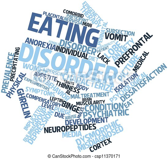 Eating disorder - csp11370171