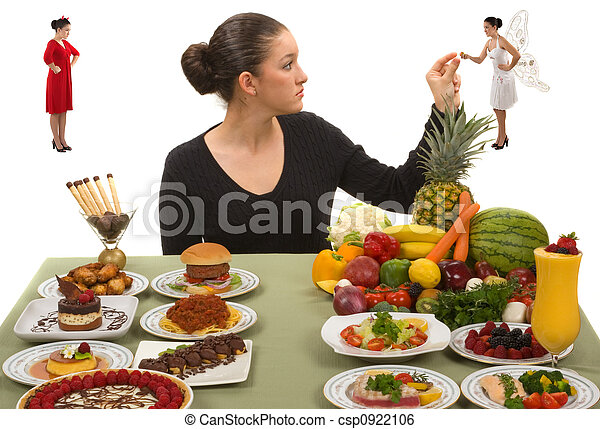 Eating Healthy - csp0922106