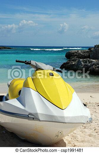 eau, jet-ski, scooter - csp1991481