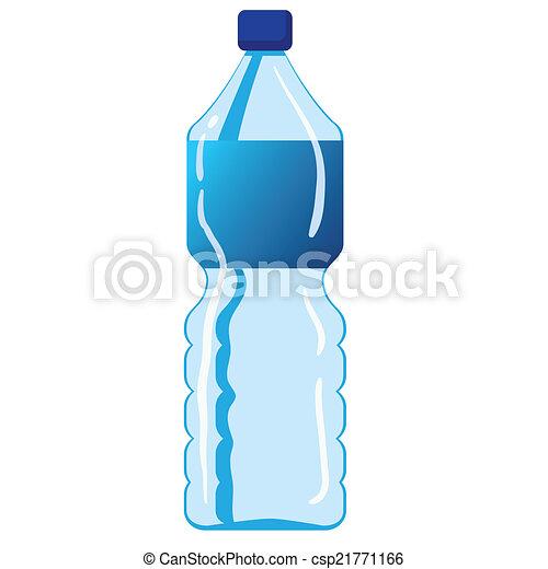 eau, minéral, bouteille - csp21771166