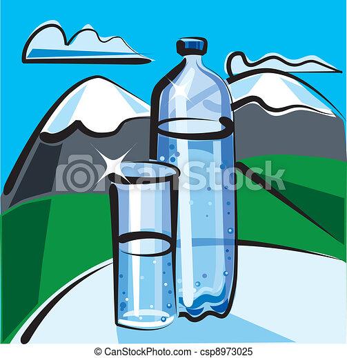 eau, minéral - csp8973025