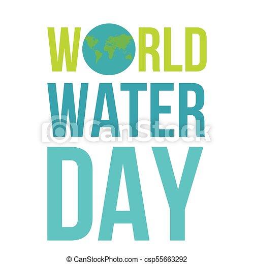 eau, mondiale, jour - csp55663292
