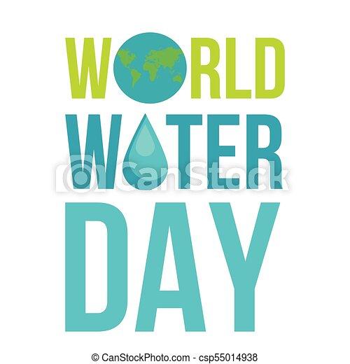 eau, mondiale, jour - csp55014938