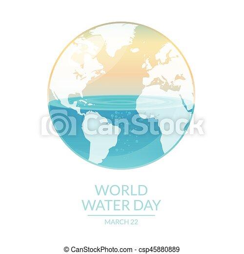 eau, mondiale - csp45880889