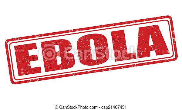 ebola, bélyeg - csp21467451