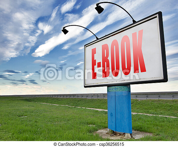 ebook or digital book - csp36256515