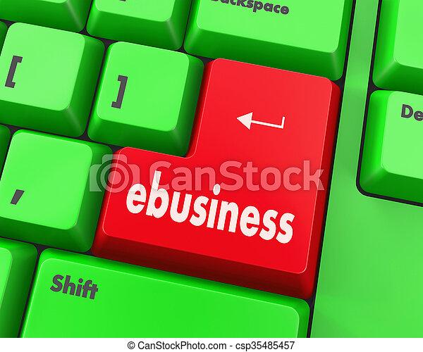 ebusiness - csp35485457