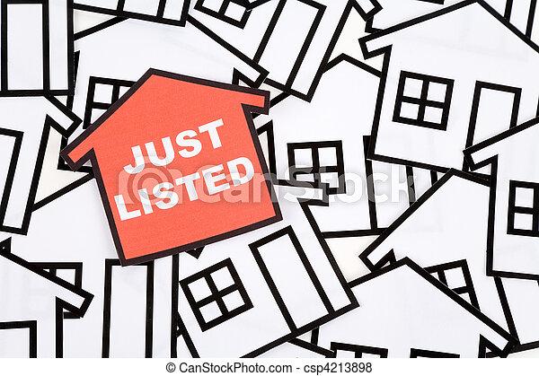 Immobilien-Konzept - csp4213898