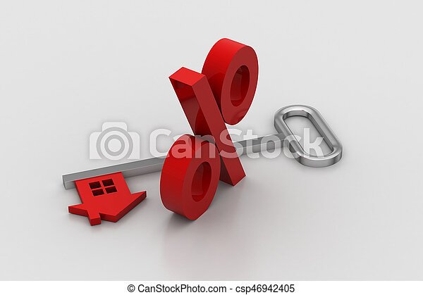 Immobilien-Konzept - csp46942405