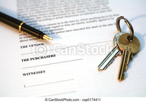 Immobilienverkauf - csp0174411