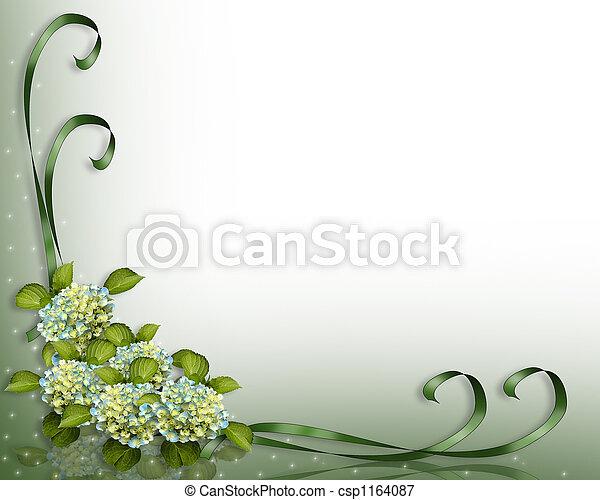 ecke, hortensie, blumen - csp1164087