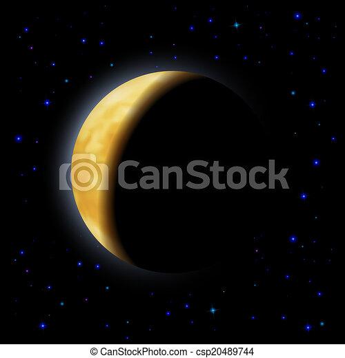 Eclipse de la luna - csp20489744