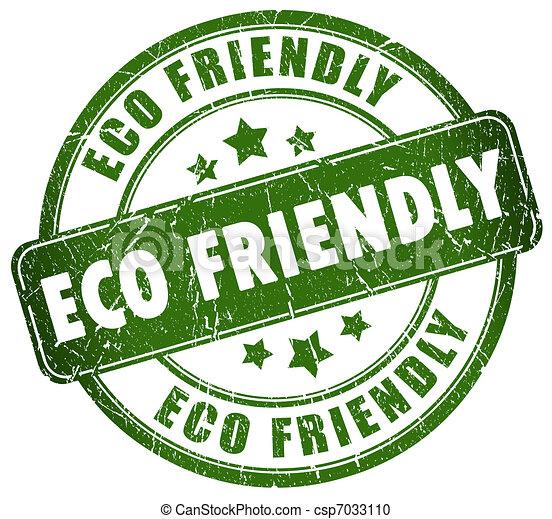 eco, φιλικά  - csp7033110