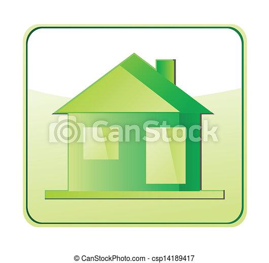 eco, 家 - csp14189417